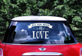 AUTOSTICKER All you need is Love