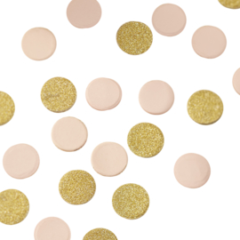TAFEL CONFETTI GOUD-ROZE GINGER RAY