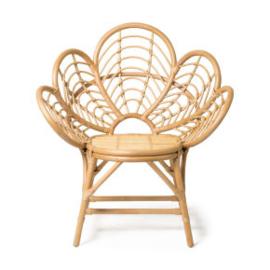 Rotan Flower Chairs - Set van 2 - VERHUUR