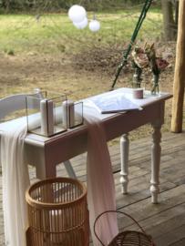 Bruiloft Teken / Ambtenaar tafeltje - VERHUUR