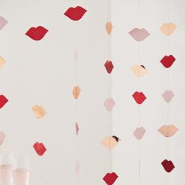Backdrop Lippen valentijn - Ginger Ray