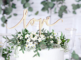 Love - Caketopper - Hout