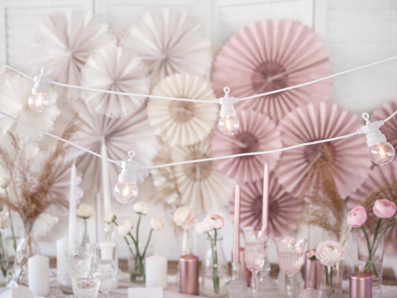 Led- Prikkabels 5m - 10 lampjes - Wit