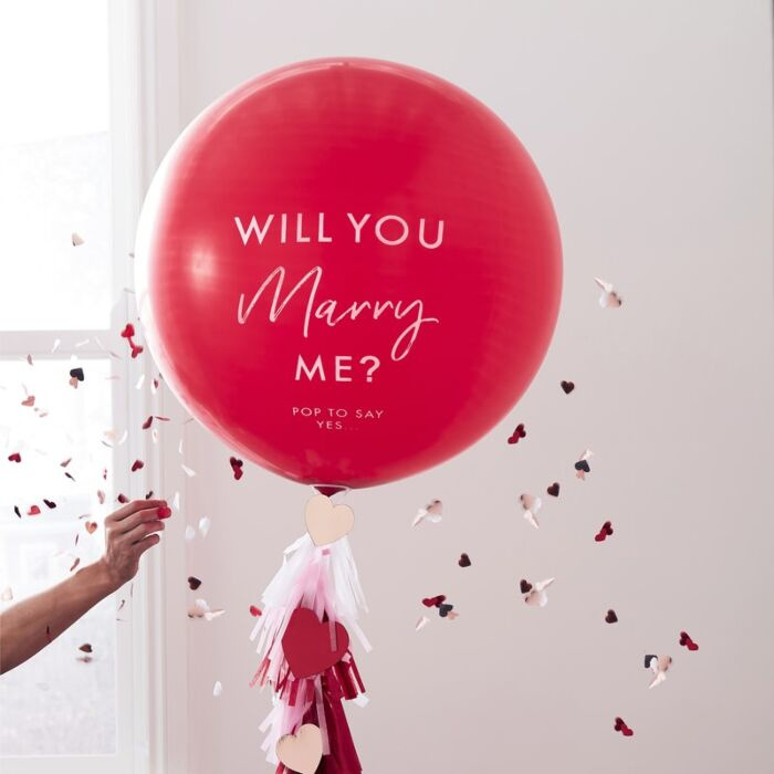 Will you Merry Me - Ballon - Ginger Ray