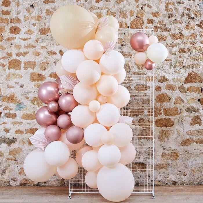 Ballon Backdrop - A touch of Pampas wedding Ginger Ray