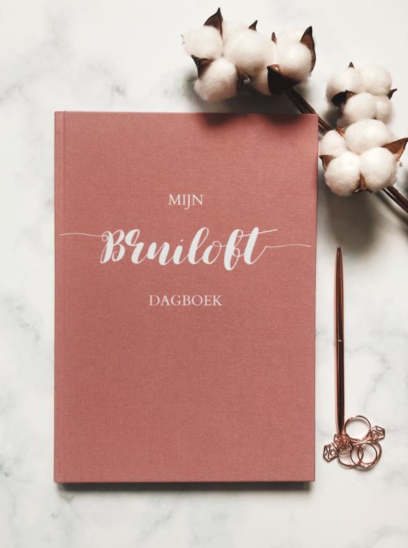 Mijn Bruiloft Dagboek Oud Roze