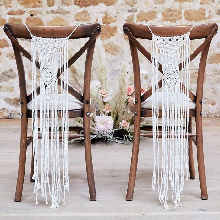 Macrame Stoel Decoratie - Ginger Ray Pampas Wedding