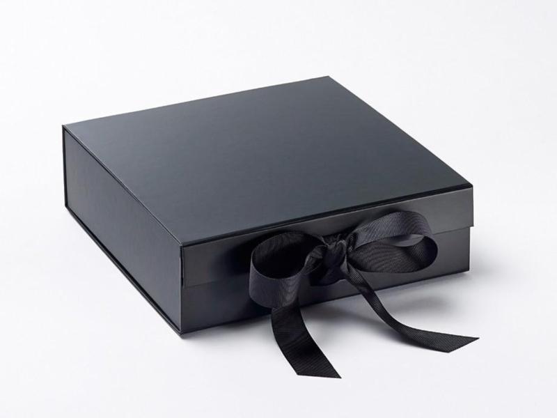 Giftbox zonder bedrukking Zwart Maat M