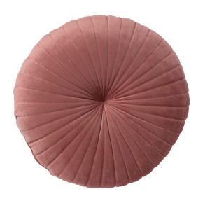 Kussen roze rond - VERHUUR