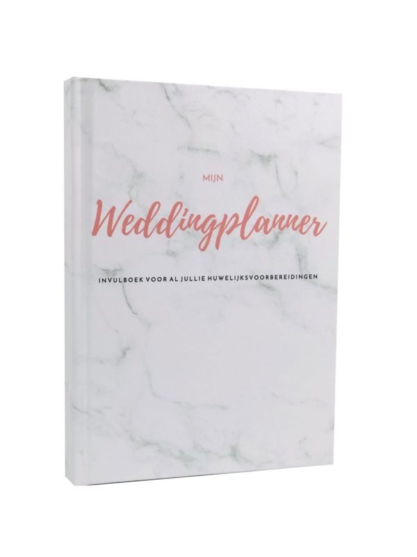 Weddingplannerboek A5 -XS Versie -  Marmer