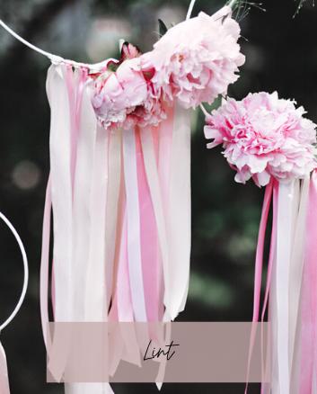 lint bruiloft