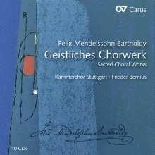 Das Geistliche Chorwerk - Mendelssohn | 10 CD