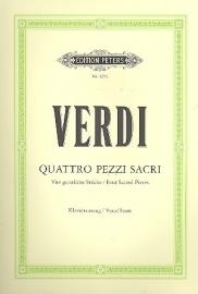 4 pezzi sacri  - Verdi | Peters