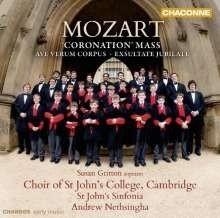 "Messe KV 317 ""Krönungsmesse""/ Coronation Mass - Mozart | CD"