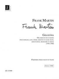 Golgotha - Frank Martin