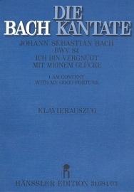 Ich bin vergnügt mit meinem Glücke , Kantate 84 BWV84- Bach | Carus