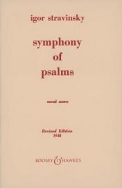 Psalm symphony - Strawinsky