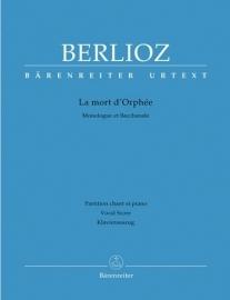 La Mort d`Orphee- Berlioz | Barenreiter