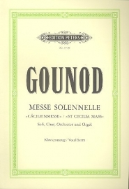Messe solennelle - Gounod | Peters