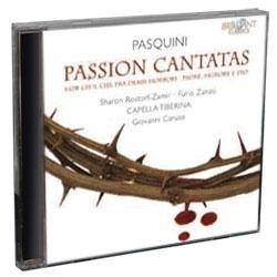 Passion Cantatas - Pasquini | CD