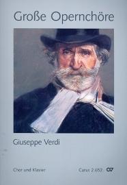 Große Opernchöre - Verdi | Carus ( Partituur)