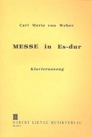 Messe Es-Dur - Weber | Lienau Verlag
