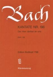 Der Herr denket an uns , Kantate 196 BWV196 - Bach | Breitkopf
