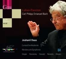 Lukas Passion - C.P.E. Bach | CD
