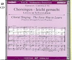 Bach - Weihnachtsoratorium- ALT | Oefen  CD
