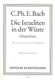 Die Israeliten in der Wüste Carl Ph. Bach |Oratorium