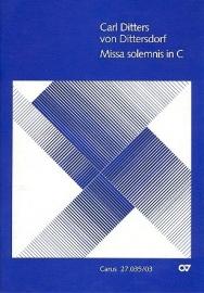 Missa solemnis C-Dur - Ditters von Dittersdorf