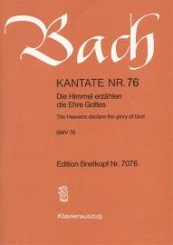 Die Himmel erzählen die Ehre Gottes : Kantate BWV76-Bach | Breitkopf