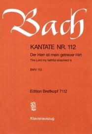 Der Herr ist mein getreuer Hirt , Kantate 112 BWV112 - Bach | Breitkopf
