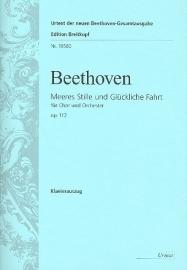 Meeres Stille und glückliche Fahrt op.112 -Beethoven| Breitkopf