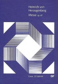 Messe e-Moll op.87 - Herzogenberg