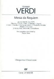 Messa da Requiem - Koorpartituur -Verdi | Carus