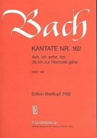 Ach ich sehe itzt da ich zur Hochzeit gehe : Kantate162 BWV162-Bach | Breitkopf