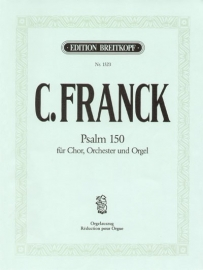 Psalm 150 -Halleluja lobt Gott - Franck | Breitkopf