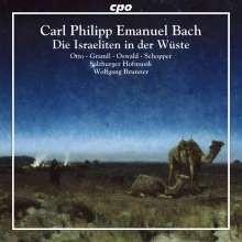 Die Israeliten in der Wüste Wq.238 - C.P.E Bach | CD