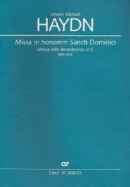 Missa in honorem Sancti Dominici MH419- Michael Haydn