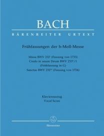 Frühfassungen zur h-Moll-Messe - Bach | Barenreiter