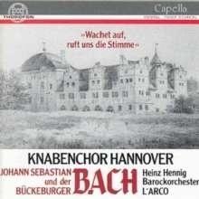 Wachet auf,ruft uns die Stimme (Motette)- JCF Bach | CD