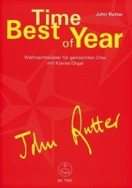Best Time of Year : Weihnachtslieder - Rutter | Barenreiter