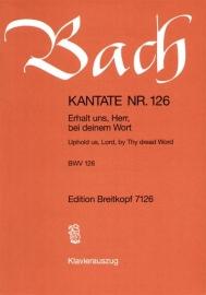 Erhalt uns Herr bei deinem Wort : Kantate  BWV126-Bach| Breikopf