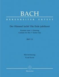 Der Himmel lacht die Erde jubilieret , Kantate 31 BWV31 - Bach | Barenreiter