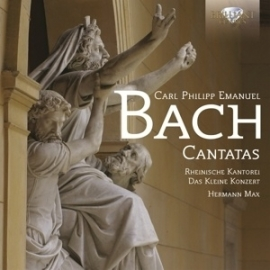 Bach Cantatas ( C.Ph.E. Bach) - CD