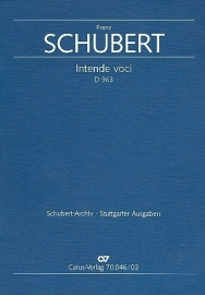 Intendi voci D963 - Schubert | Carus
