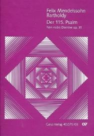 Der 115. Psalm op.31 - Mendelssohn | Carus