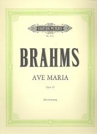 Brahms -AVE MARIA OP.12 - | Peters