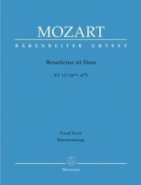BENEDICTUS SIT DEUS KV117- Mozart | Barenreiter